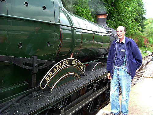 Visiting loco Bradley Manor