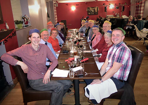 The telecoms group dinner