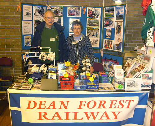 The DFR stall at the Bristol Model Railway Show 2010, Thornbury