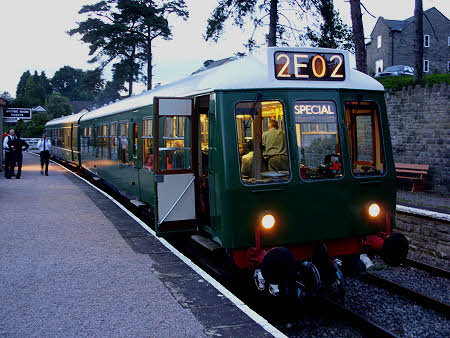The DMU celebrates its 50th with an evening buffet train