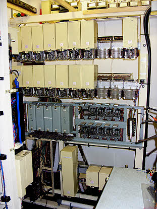Parkend Exchange Switching Rack