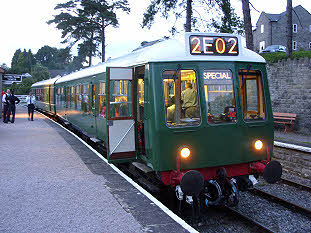 The DFR's class 108 DMU at Parkend