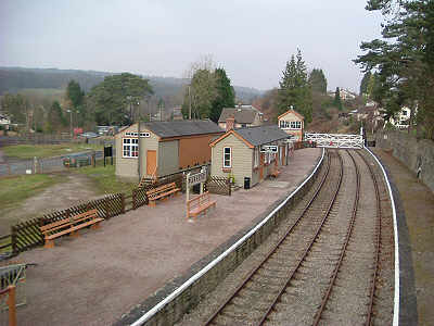 Parkend Station, Goods Shed and Signal Box